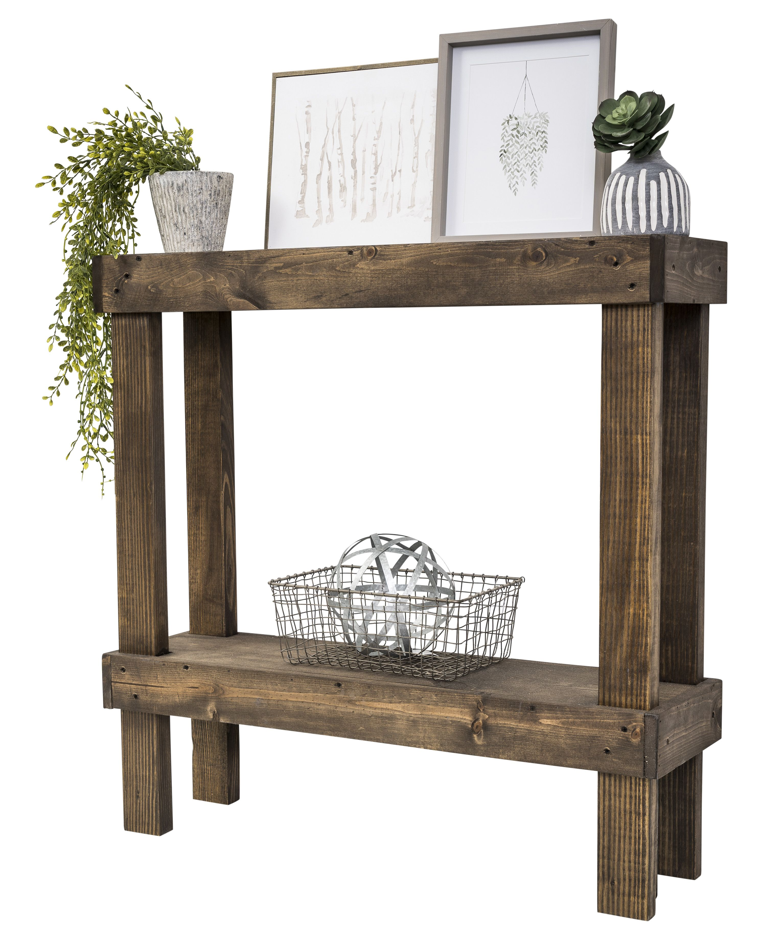 Home In 2020 Wooden Sofa Console Table Rustic Luxe