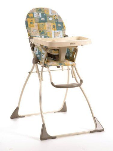Cosco Flat Fold High Chair Wild Adventure Folding High Chair High Chair Chair