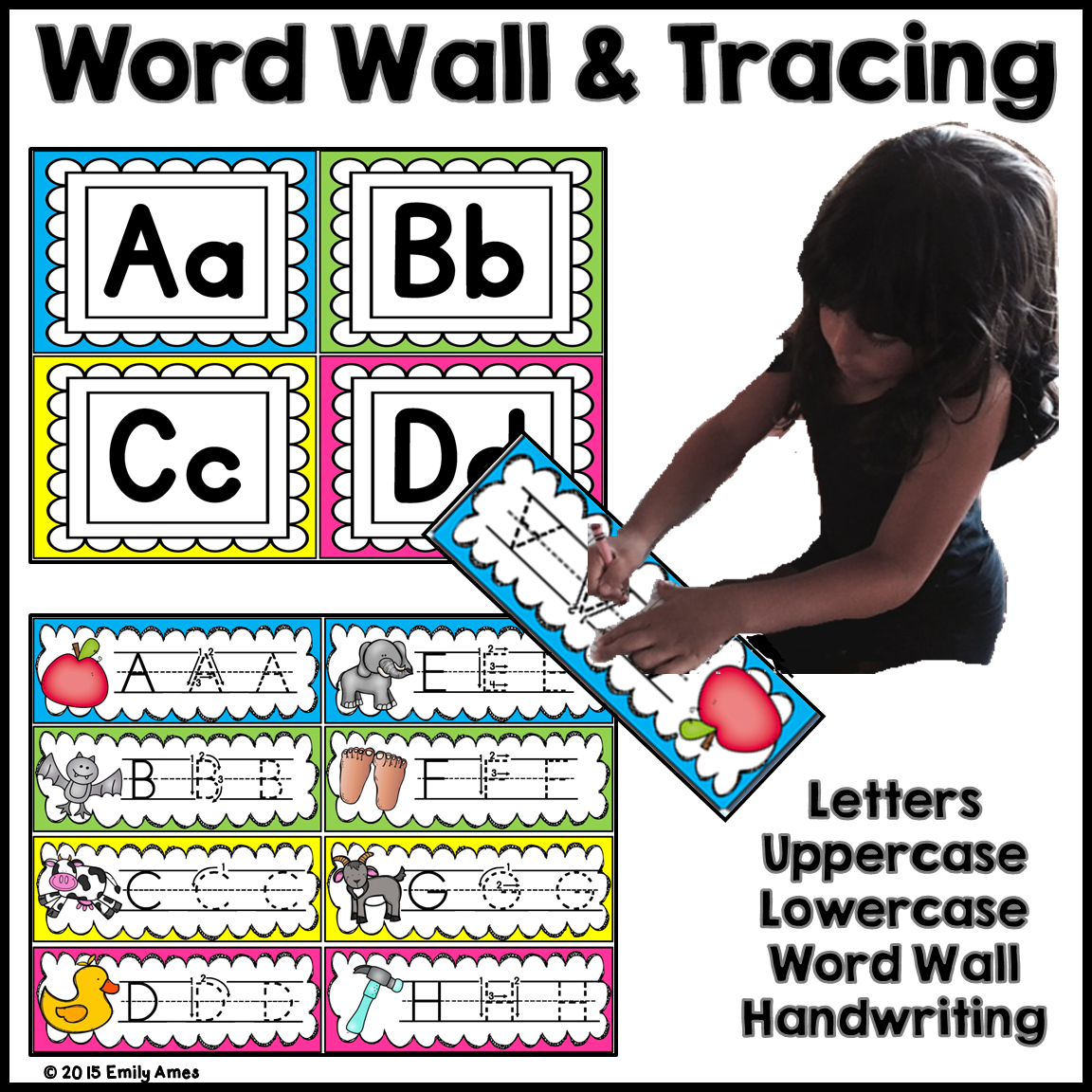 Word Wall Letters Extraordinary Word Wall And Tracing Letters  Tracing Letters Word Wall Inspiration Design