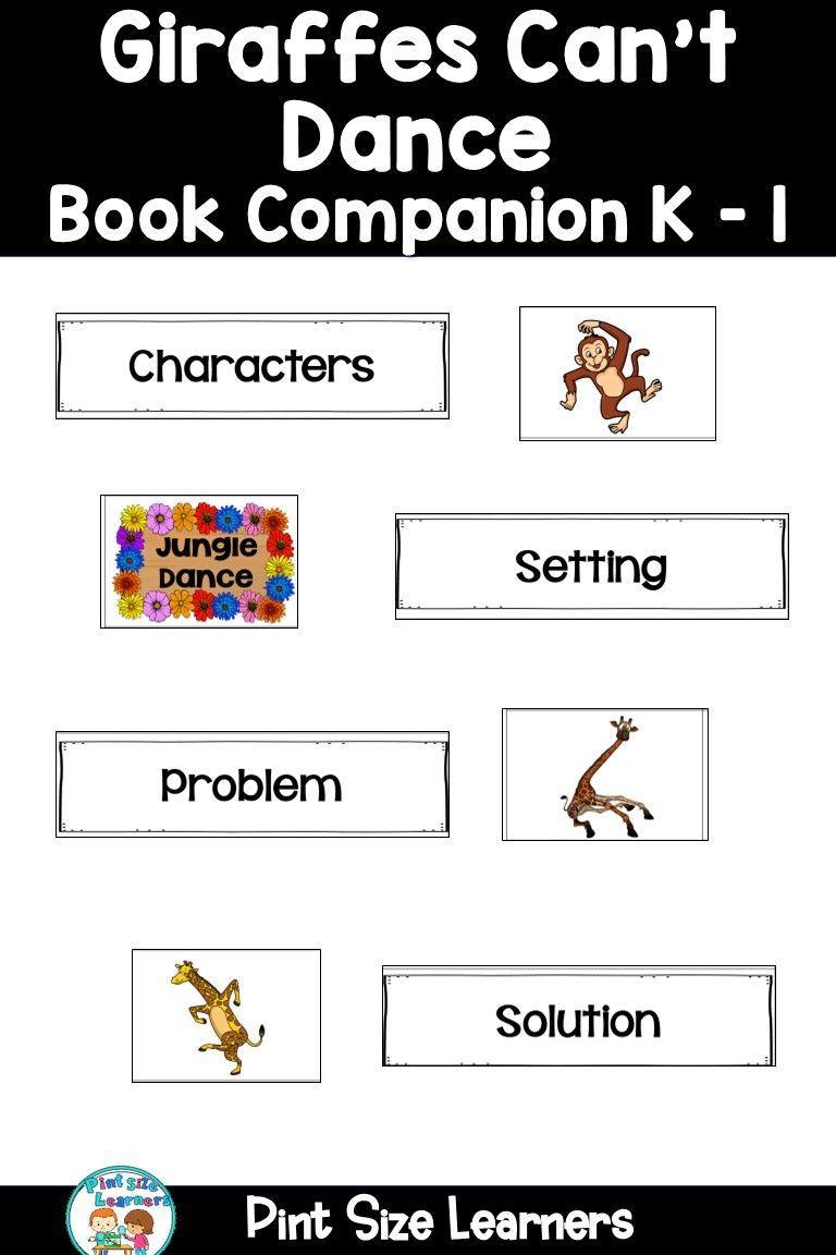 Giraffes Can T Dance Book Study Activities Unit Lesson Plans Activities Book Study Activities Book Study Dance Books [ 1152 x 768 Pixel ]