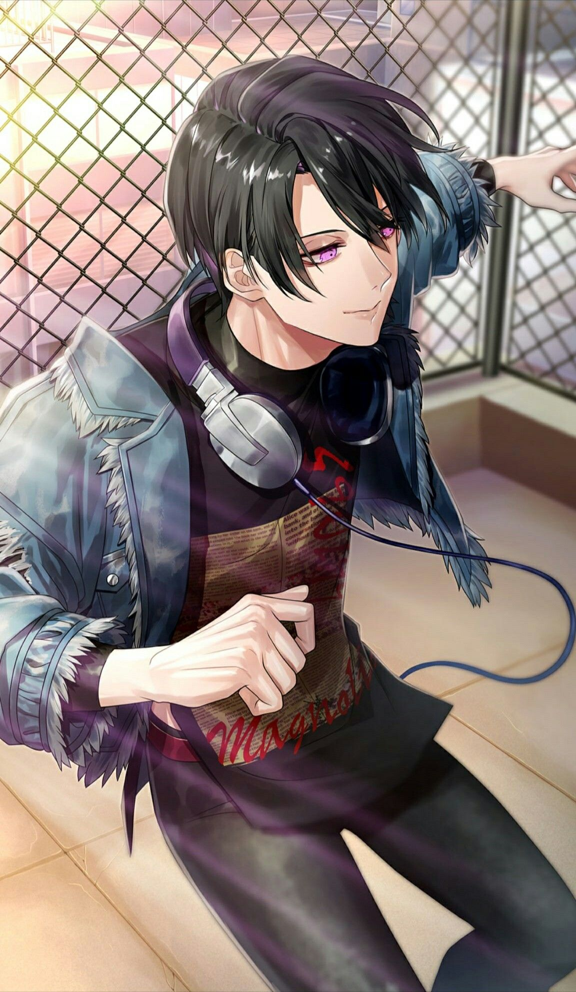 Pin By Belen Canales On Blackstar Theater Starless Black Haired Anime Boy Anime Boy Hair Handsome Anime