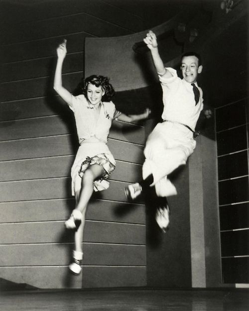 In the air with Rita Hayworth