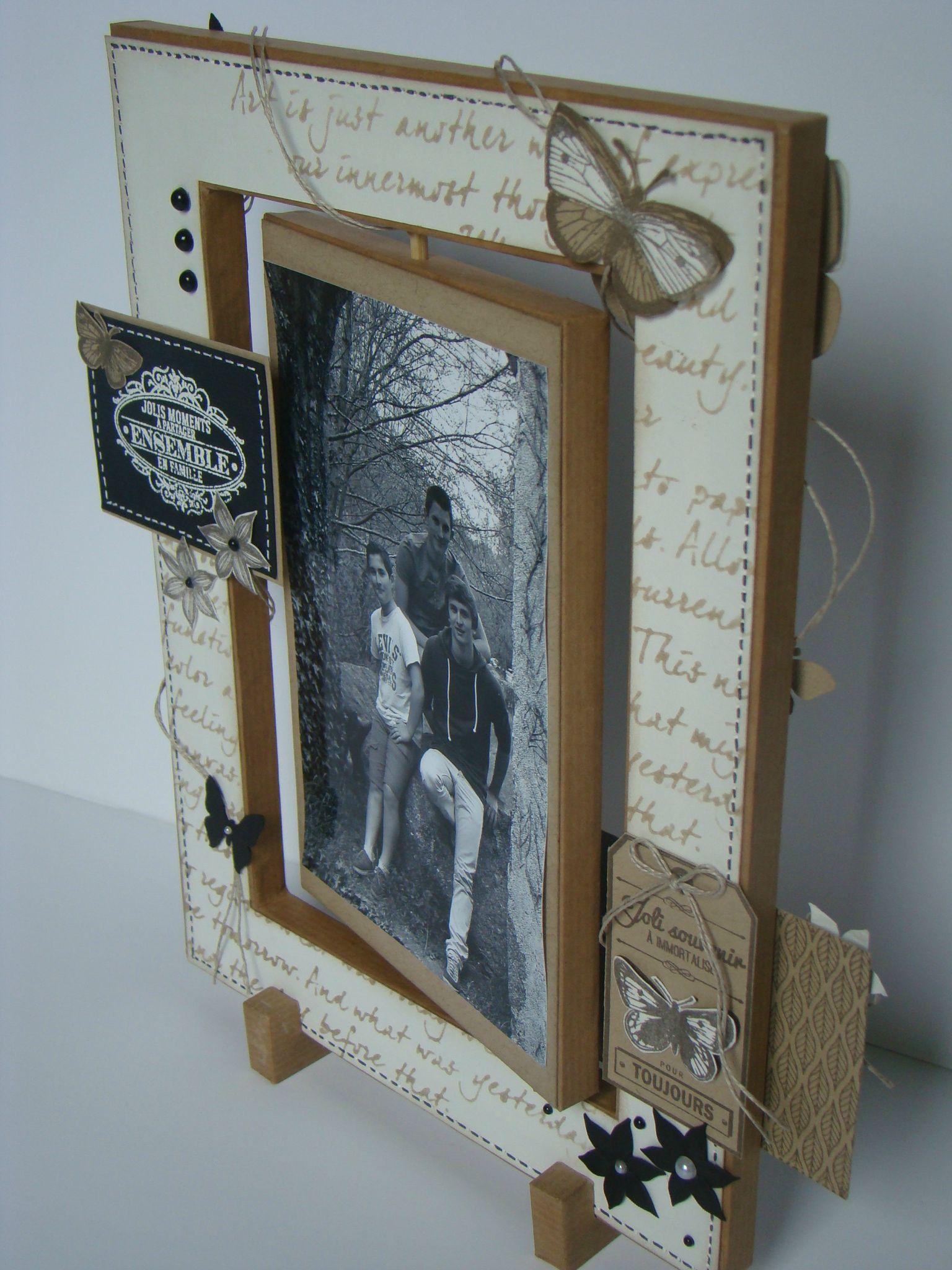 Cadre home d co r alis en carton mousse de 1 cm d for Cadres decoration interieur