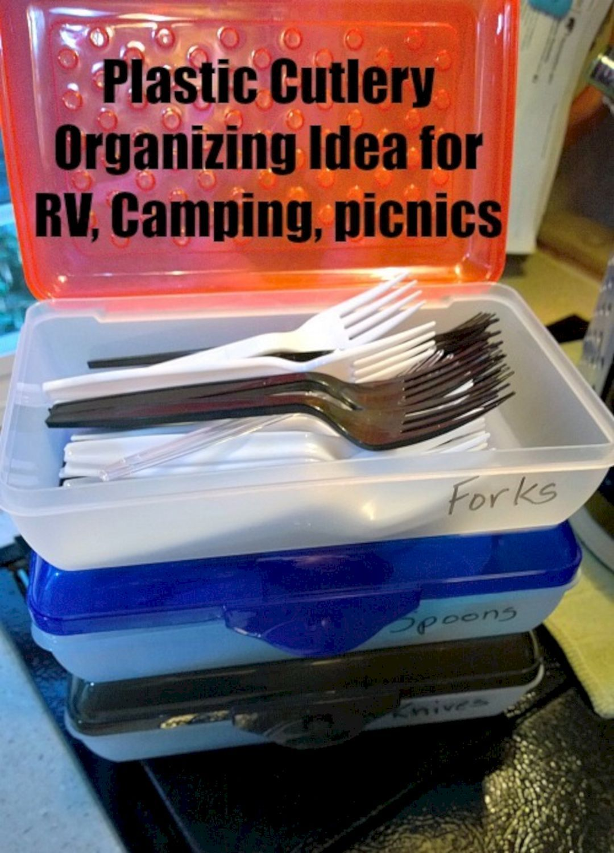 10+ DIY RV and Camper Van Hacks Organization and Storage ...