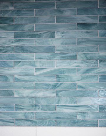 Ceramic Tile Mural Kitchen backsplash//Bathroom Shower Tropical Bay by Sung Kim