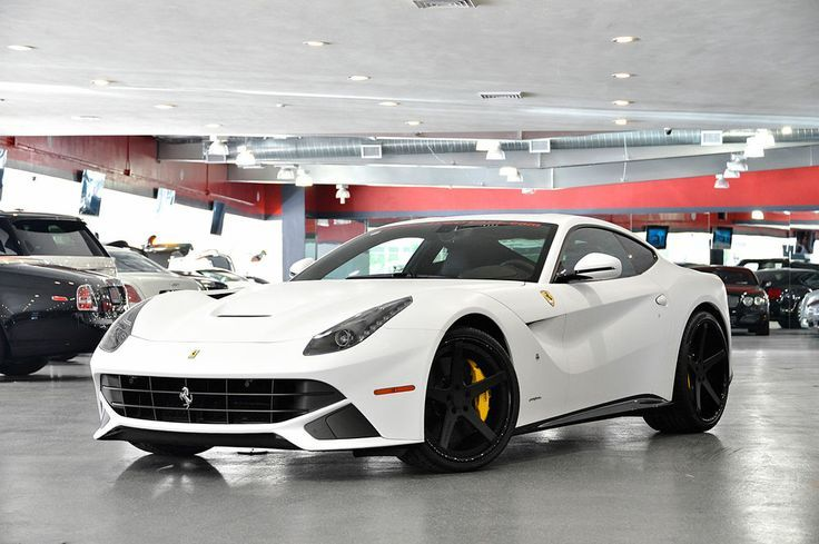 Matte White Wrapped F12 Very Very Rare Luxury Cars For Sale Sports Cars For Sale Super Cars