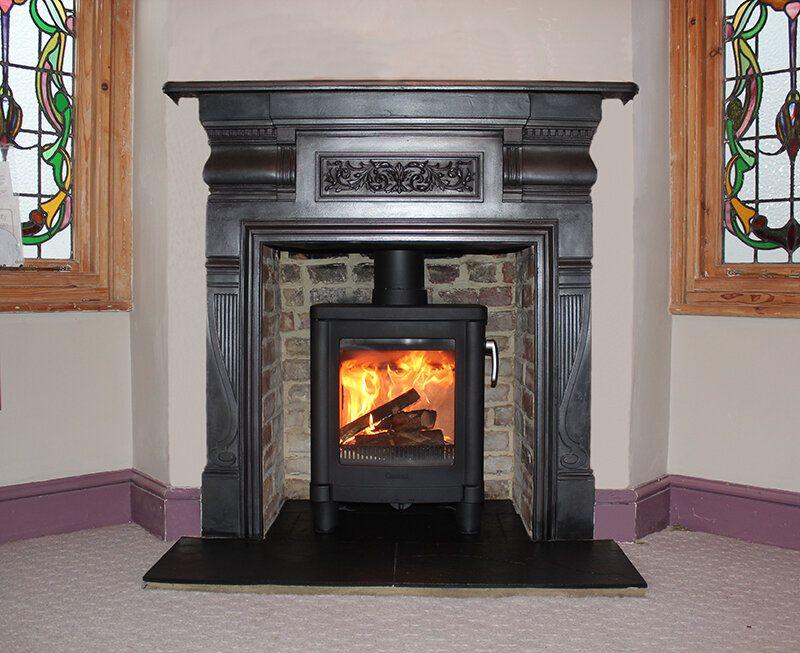 Wood Stove Fireplace, Cast Iron Fireplace Wood Burning Stove