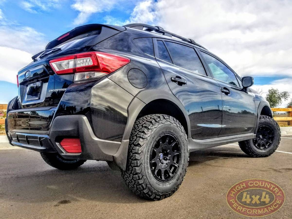 2019 SUBARU XV CROSSTREK BLACK in 2020 Subaru, Black
