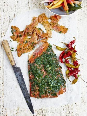 Christmas Jerk Gravlax Fish Recipes Jamie Oliver Christmas
