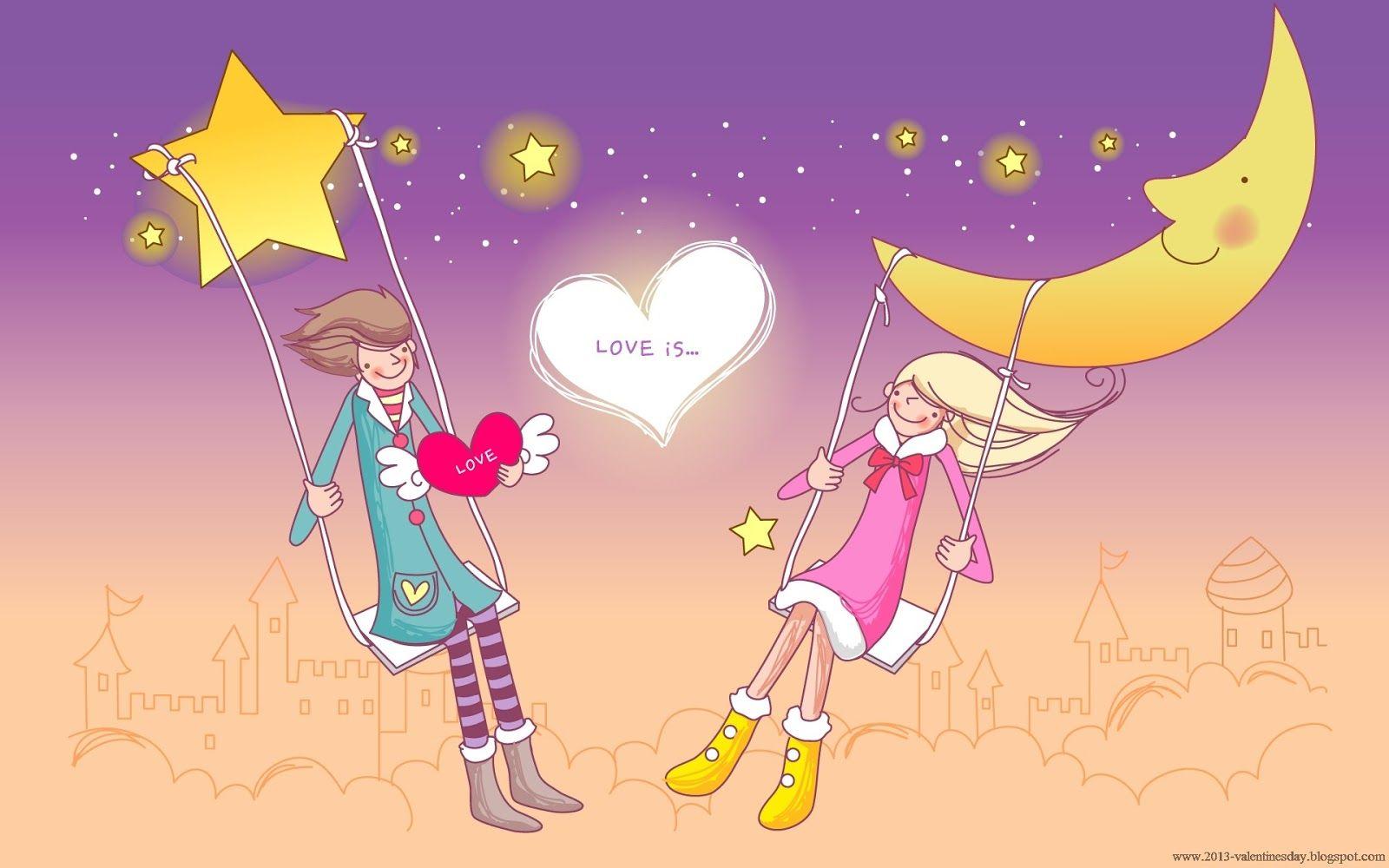 Download Wallpaper I Love You Cartoon - 157390be6f9f7be5a4c4fda2c9555754  You Should Have_58713   .jpg