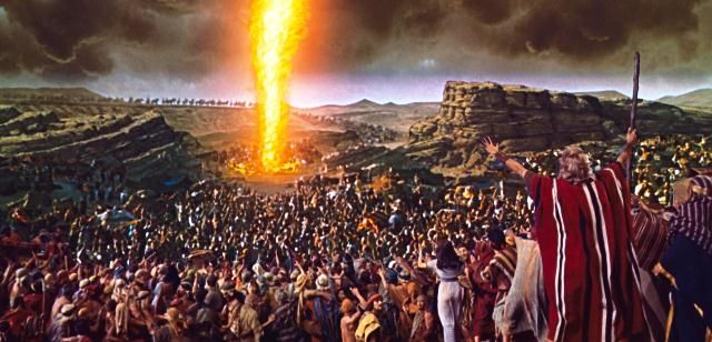 Image result for Pillar of fire goes before the hebrews pictures