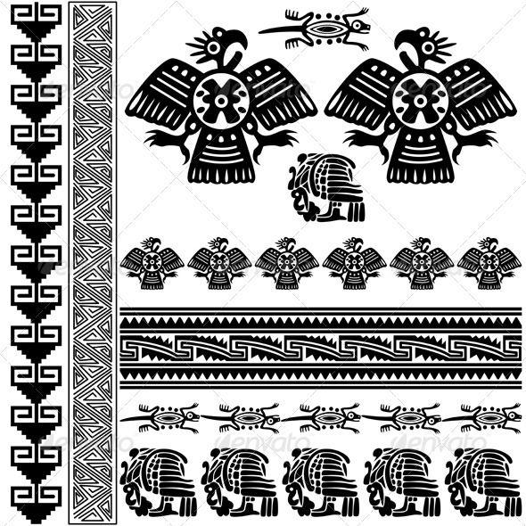 Ancient American Ornaments Ornament Symbols Tattoos And Tattoo