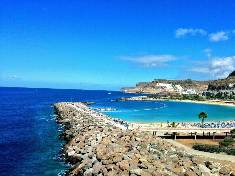 Playa De Amadores Gran Canaria Travel Experience Canary Islands Island