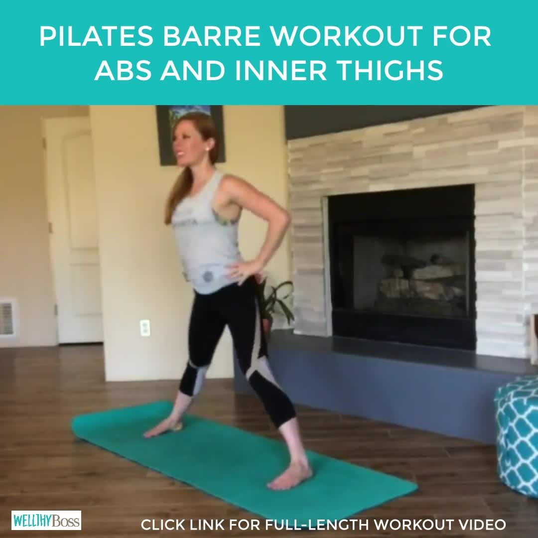 Pilates Barre Workout for Abs and Inner Thighs