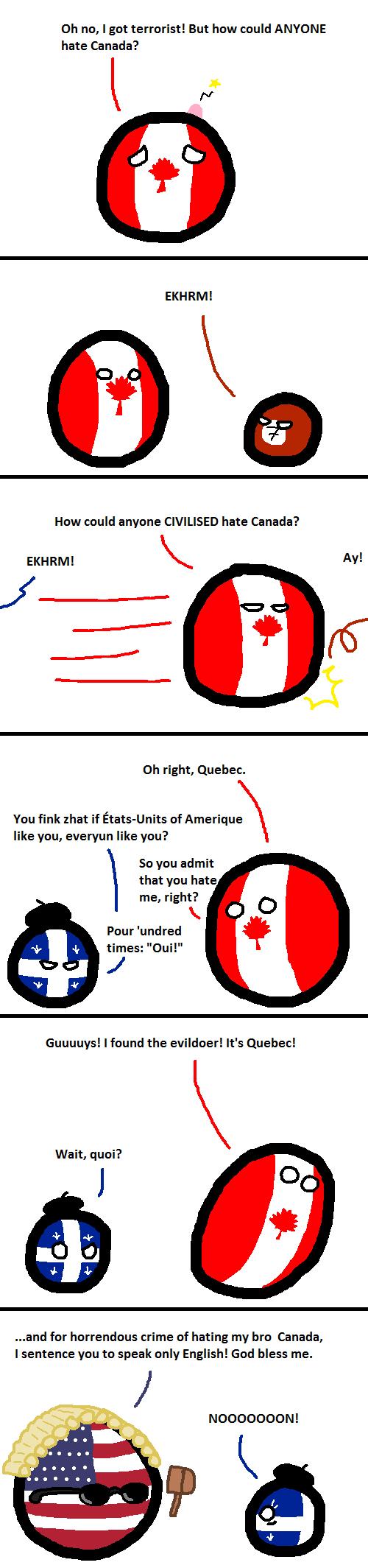 Polandball Comic Canada Jokes Country Jokes Fun Comics
