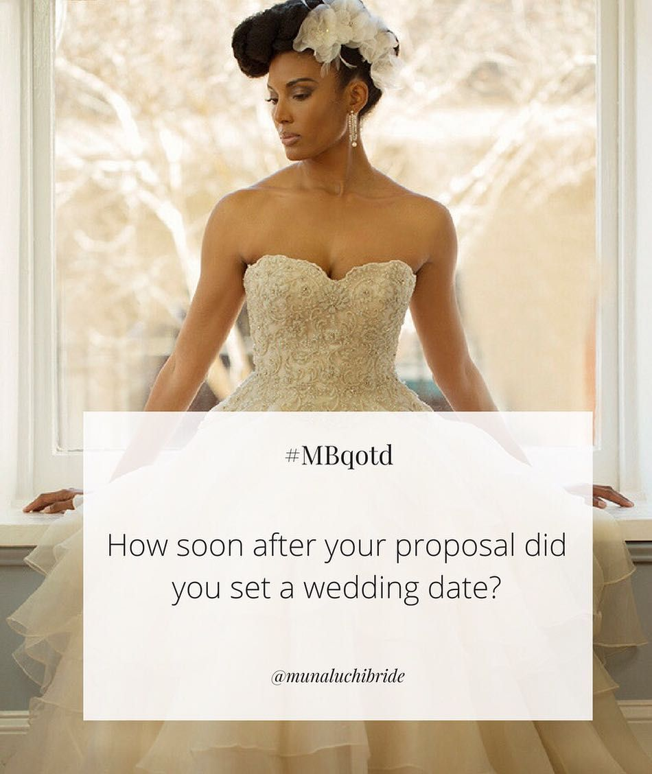 how long to get married after proposal