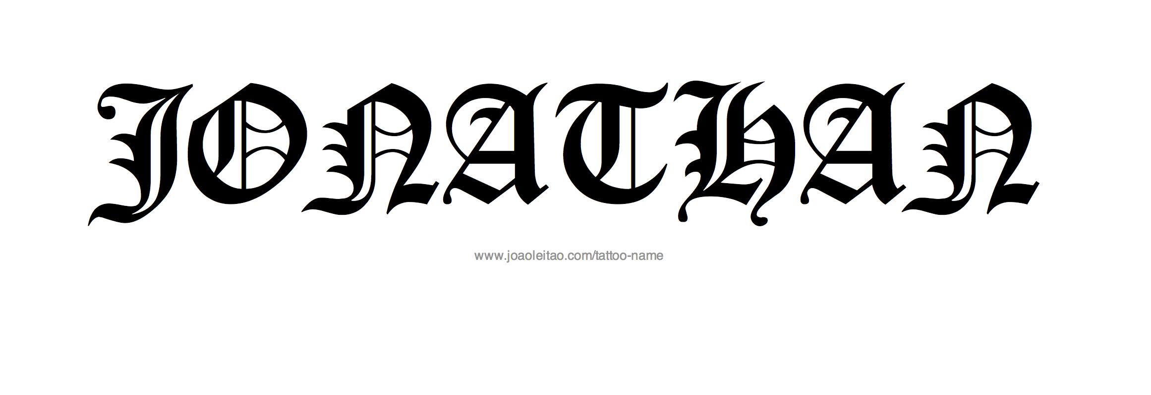 Jonathan Name Tattoo Designs Name Tattoo Designs Tattoo Designs Name Tattoo