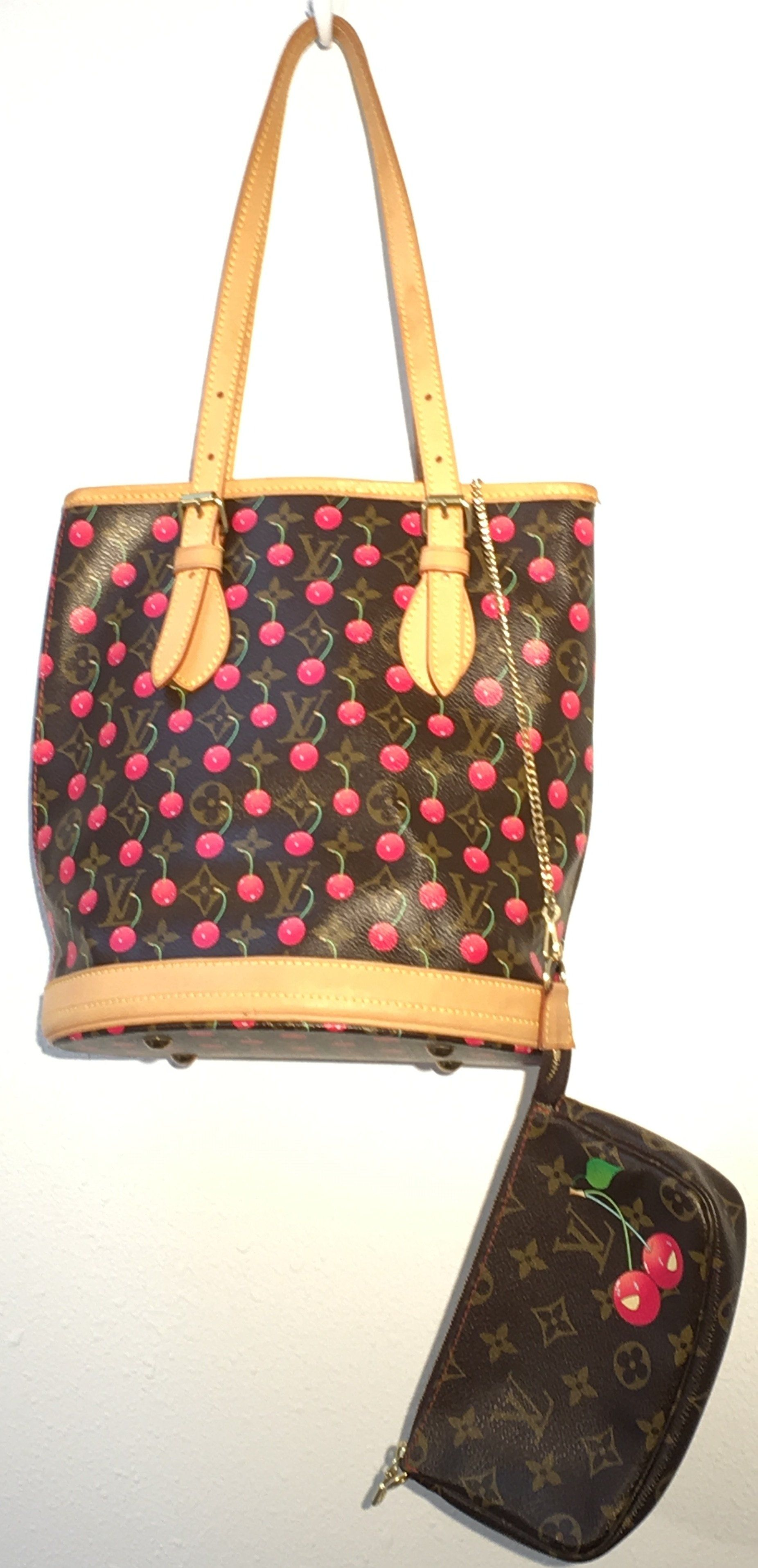 Rare Louis Vuitton Cherry Bucket Bag. Find this Pin and more on Products by Deleuse  Fine Jewelry   Couture. 6fd64c0b6c582