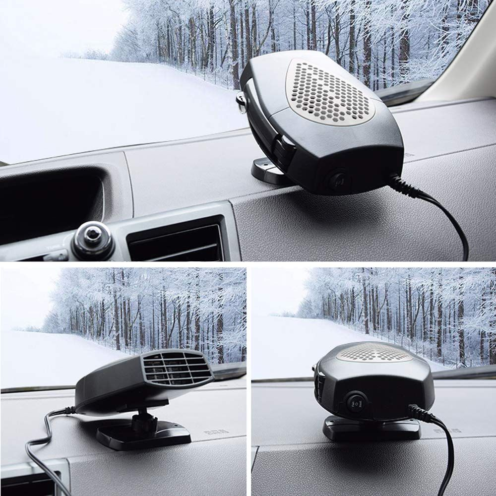 Heater to plug into cigarette lighter for car