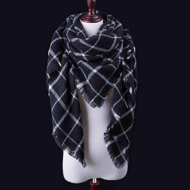 Winter Fashion Scarf Ladies Shawls Scarf Triangle scarf