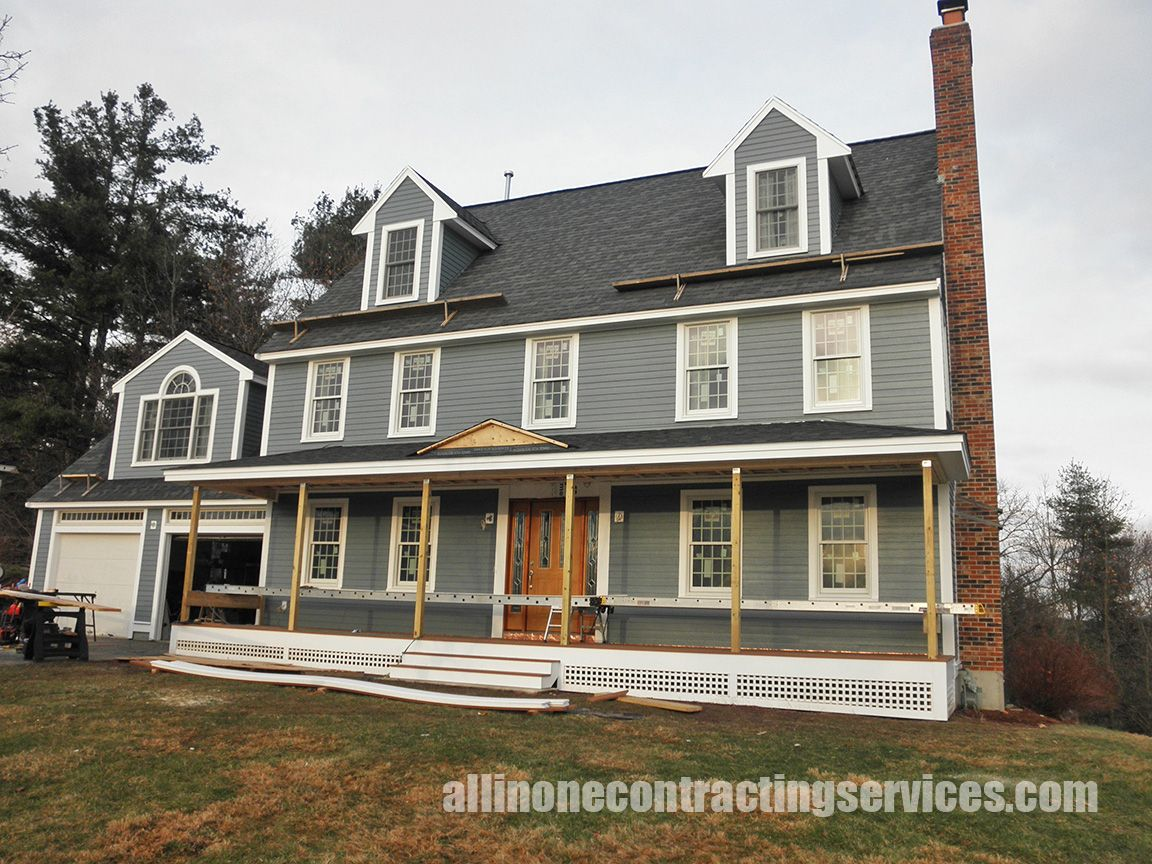 Boothbay Blue CHC House Exteriors Pinterest - Exterior hardie board