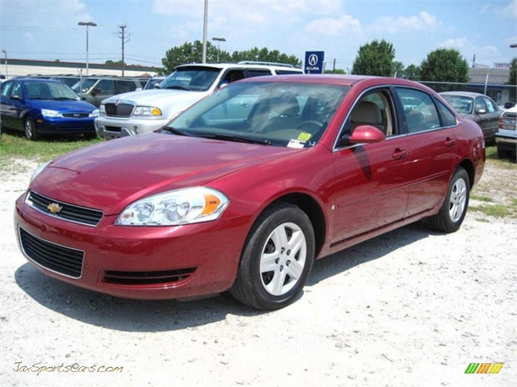 Cheverolet Cars Red Chevrolet Impala Ls In Sport Red Metallic