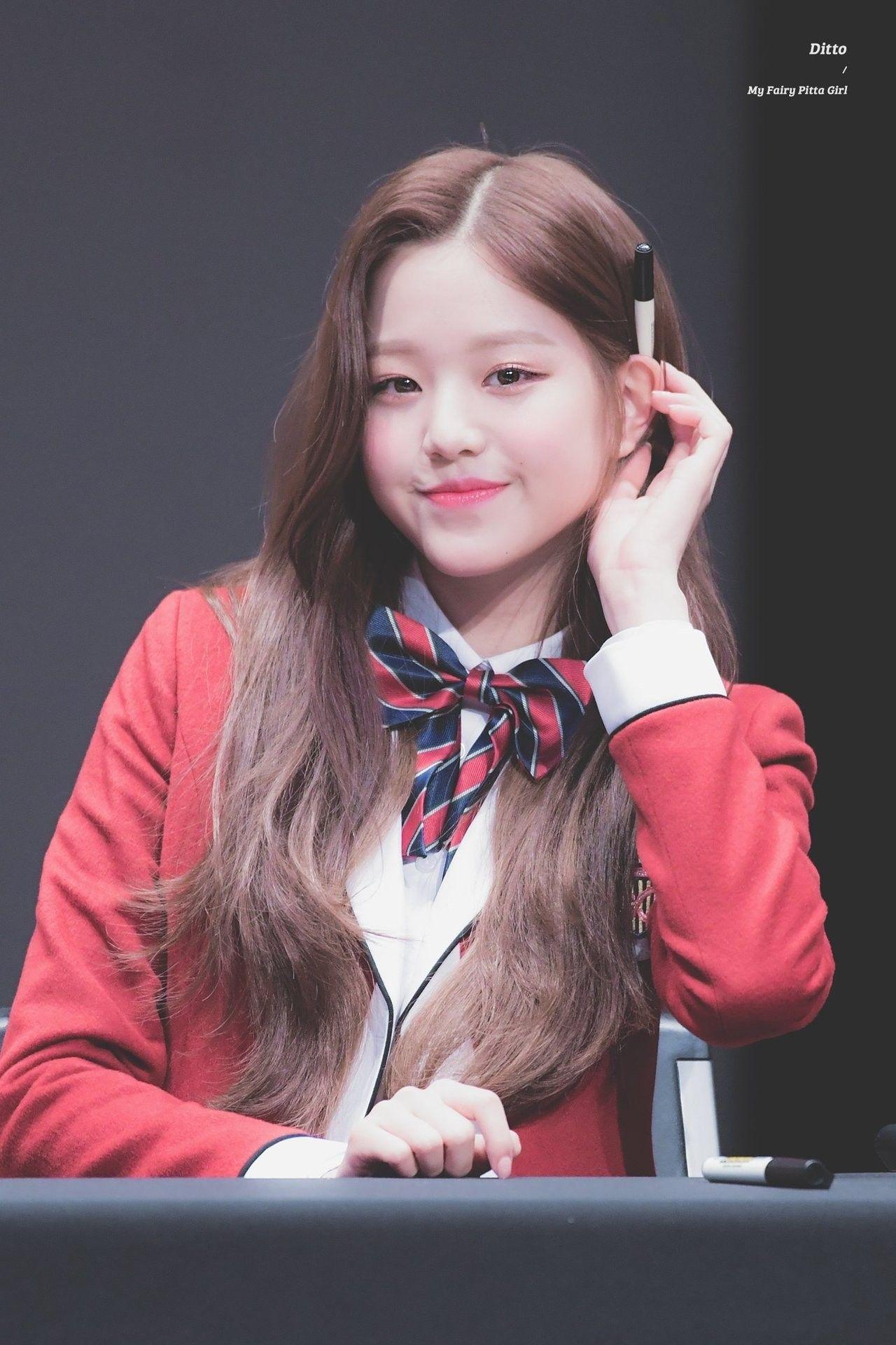 Wonyoung IZ*ONE (Dengan gambar) Anime gadis cantik
