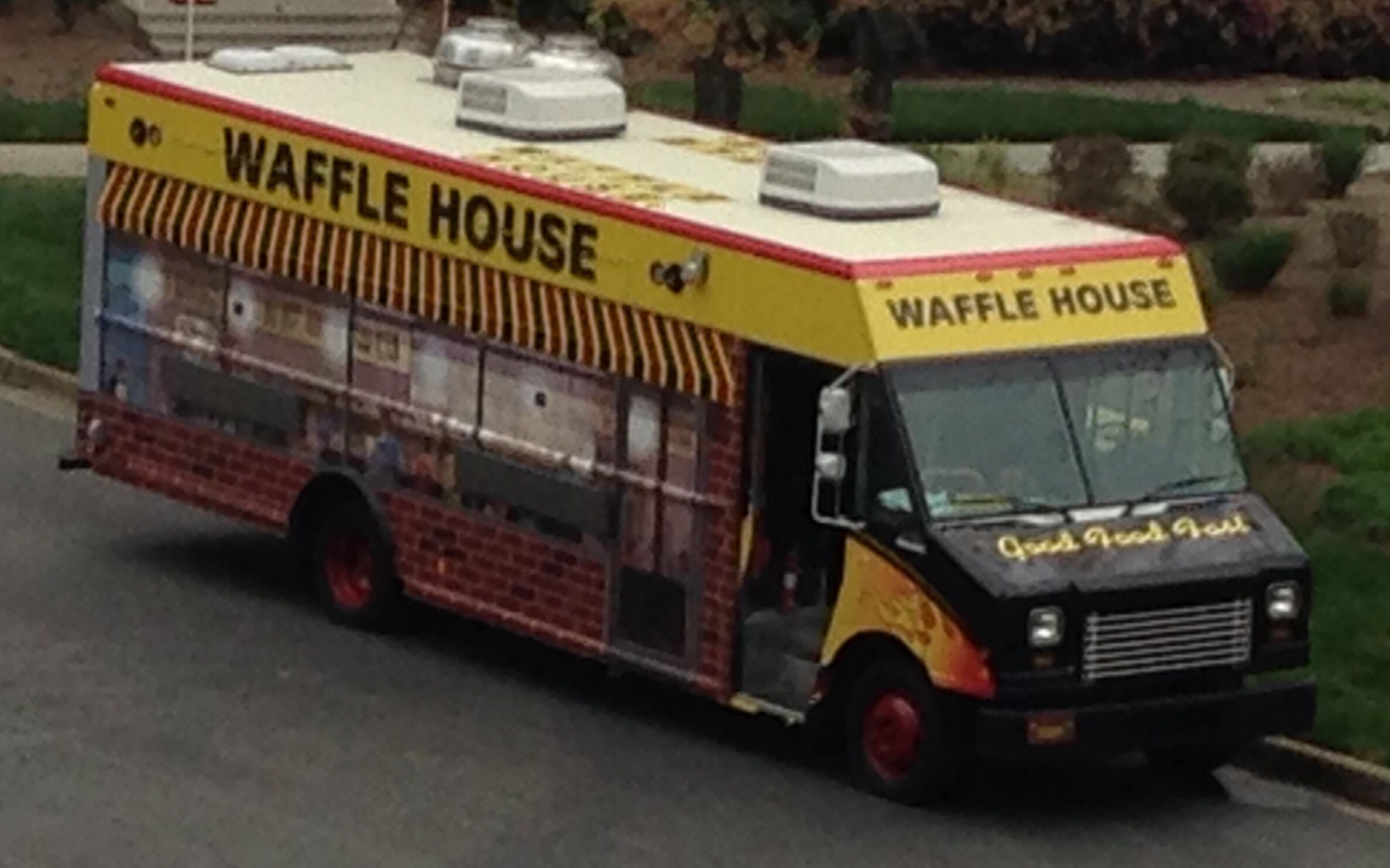 Waffle House Food Truck Restaurants Pinterest Restaurant