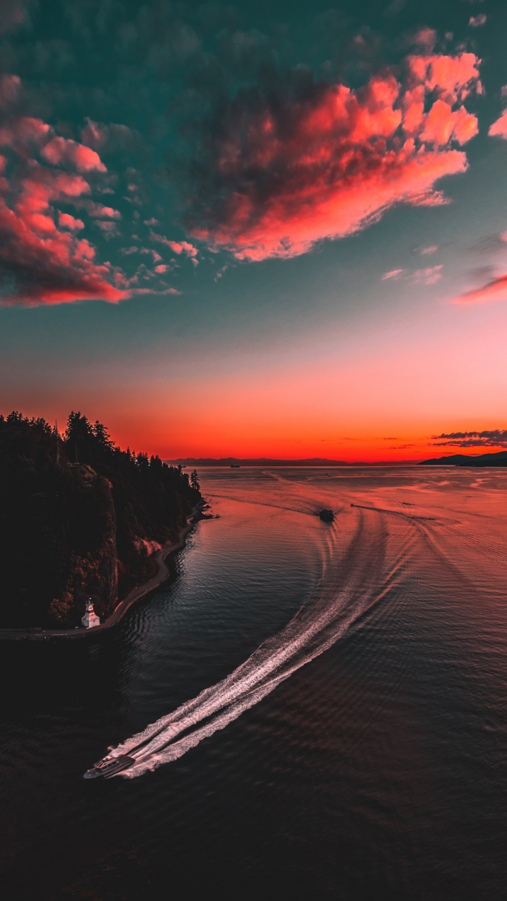 Into The Night Iphone Wallpaper In 2020 Sunset Wallpaper Iphone Wallpaper Images 4k Background