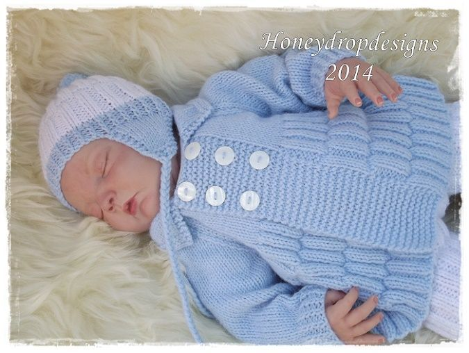 Skye REBORN BABY KNITTING PATTERN | Baby knitting patterns ...
