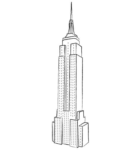 Skyscraper Coloring Sheets Yahoo Image Search Results High