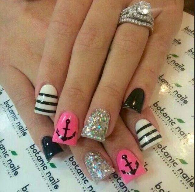 Anchor/nautical nail