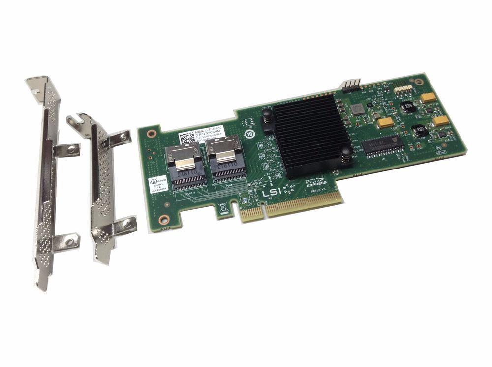 UNRAID IT Mode LSI 9210-8i SAS SATA 8-port PCI-E 6Gb/s