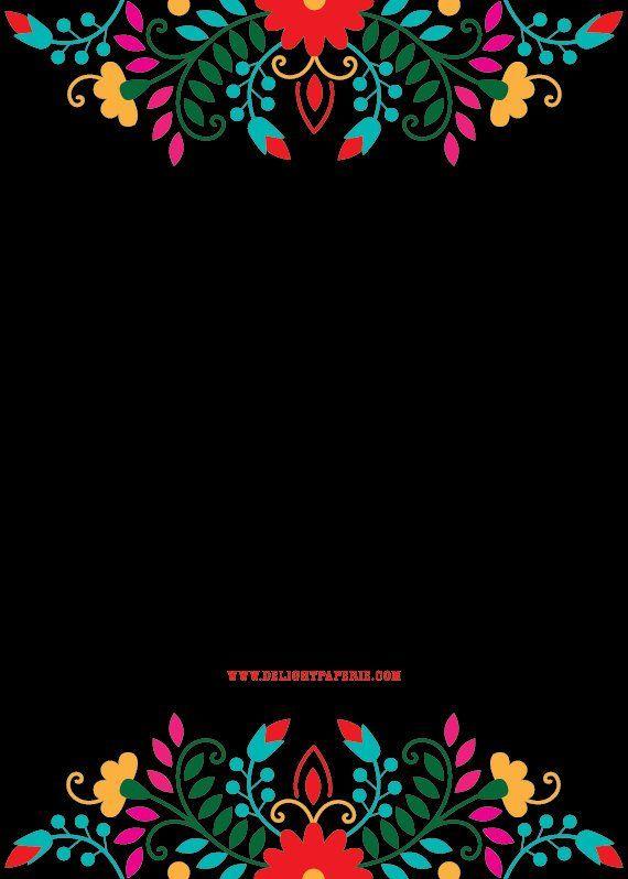 Cinco De Mayo Fiesta Invitations Mexican Themed Invitation Printed