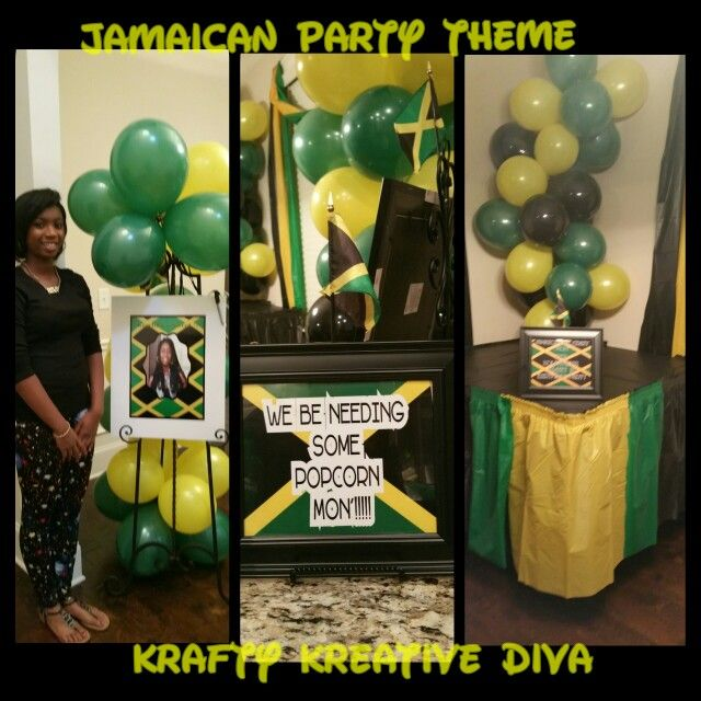 Jamaican Party Theme Decorating By Krafty Kreative Diva