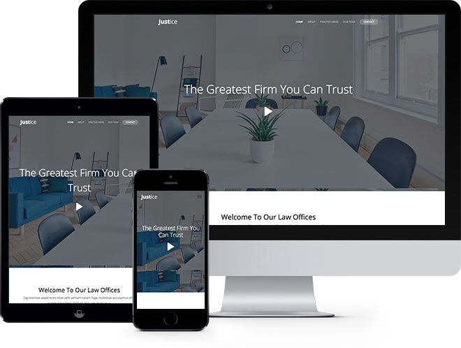 Justice Free Website Template Using Bootstrap Framework Free Responsive Html5 Template Html5 Templates Free Website Templates Website Template
