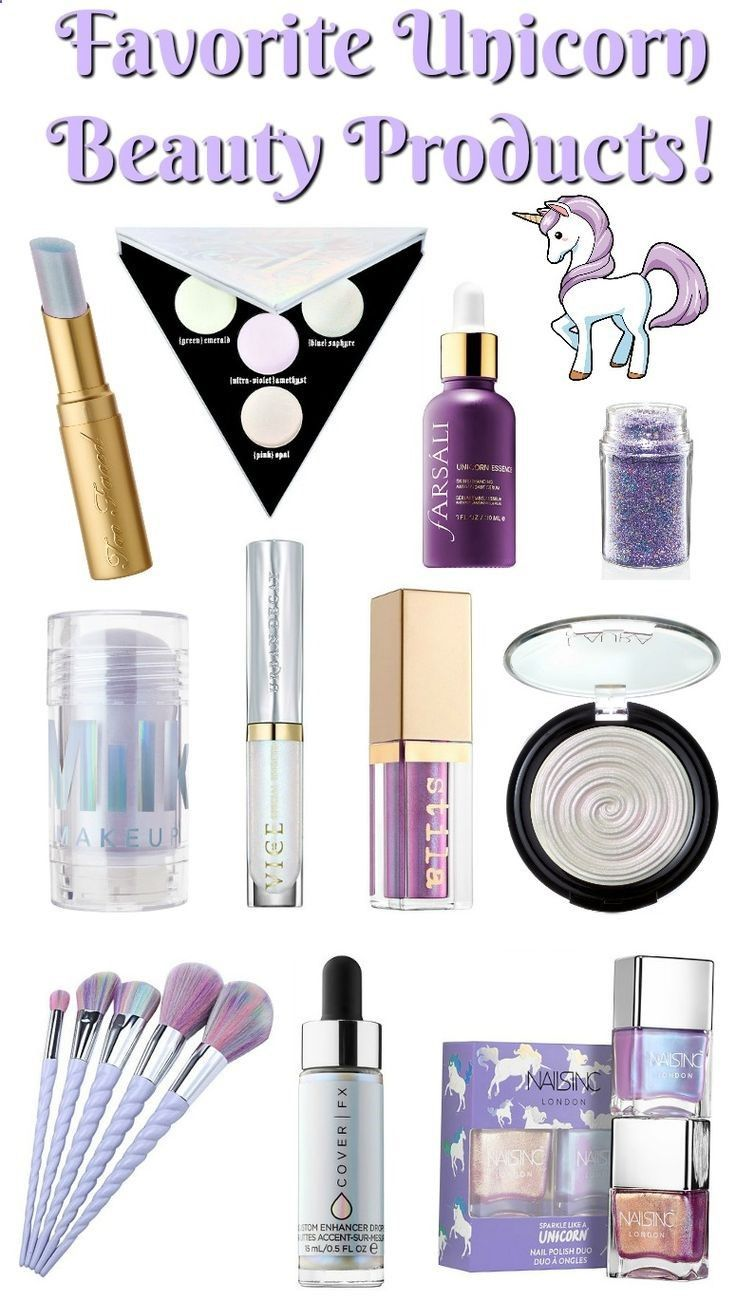 Favorite Unicorn Makeup Beauty Products! Beauty411