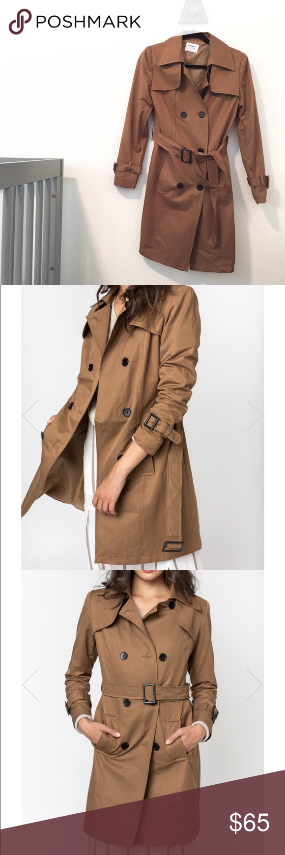 Sincerely Jules Trench Coat NWOT I bought this brand new to wear during my pregnancy, but the weather hasn't cooled down enough for me to put this beauty to good use. Never worn before. I can steam it before I deliver it. sincerelyjules Jackets & Coats Trench Coats