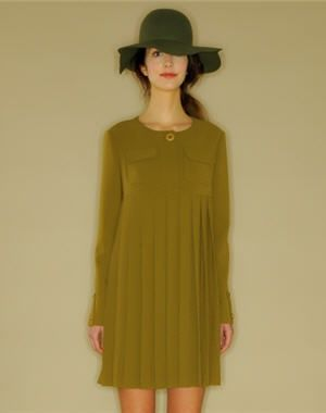 a98dcf12673 robe plissée de mademoiselle tara