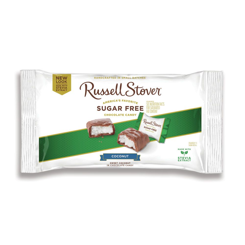 Image for sugar free coconut 10 oz bag from russell