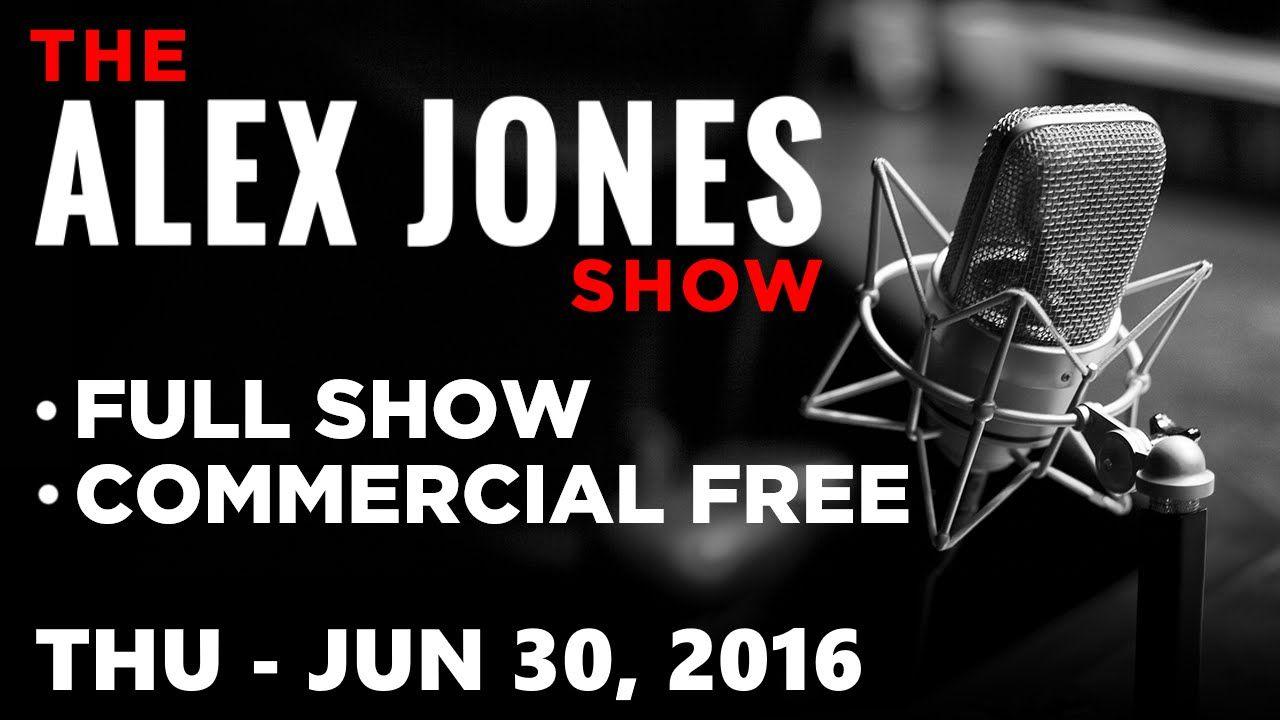 AJ Show (FULL VIDEO Commercial Free) Thursday 6/30/16: Gary Byrne, Roger Stone - YouTube
