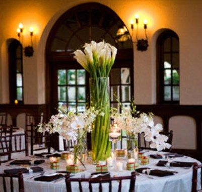 Calla Lily Centerpieces Pictures Of Tall Calla Lily Wedding