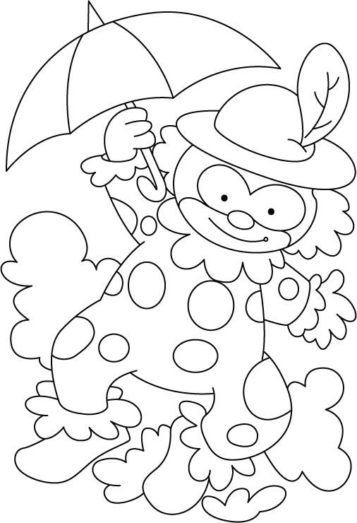 circus theme coloring pages - photo#34