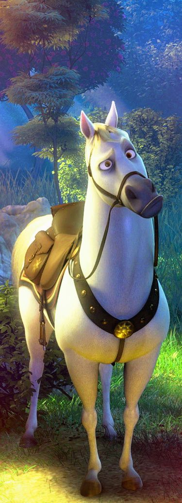 Disney challenge day 7 favorite sidekick so many but - Maximus cheval raiponce ...