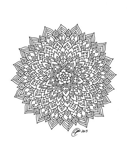 Hard Mandalas To Color Log In Mandala Coloring Pages Coloring Book Pages Mandala