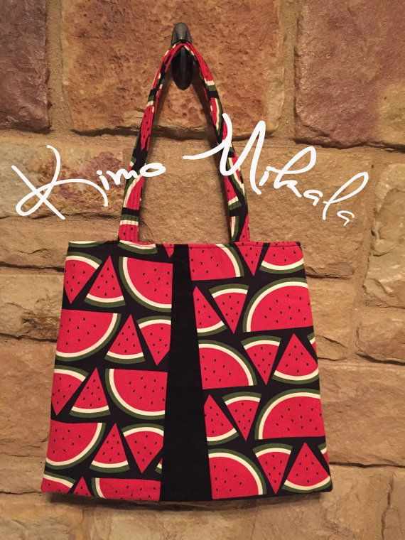 Watermelon Slices Purse by KimoMikalaSewing on Etsy