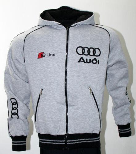Audi Quattro Mens Fleece Jacket