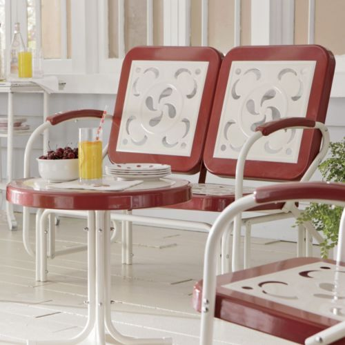 Vintage Glider From Through The Country Door Outdoor Furniture