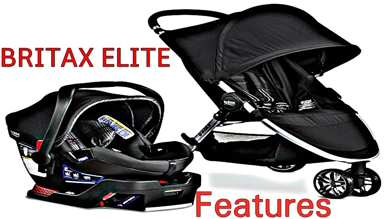 Britax BAgile BSafe 35 Elite Travel System 2017