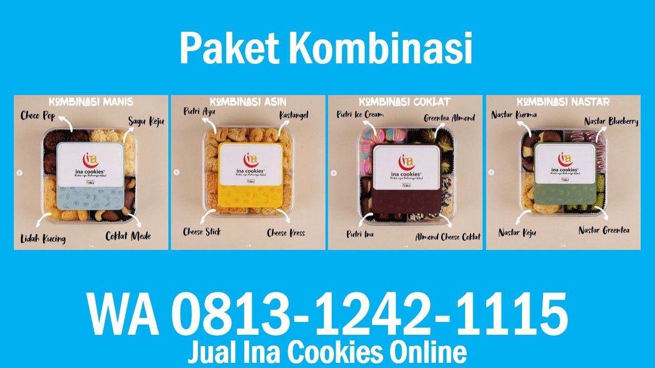 Jual Ina Cookies Online Wa 0813 1242 1115 Kue Kering Coklat Nastar